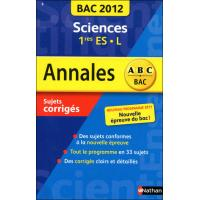 Annales bac 2012 sciences 1ere