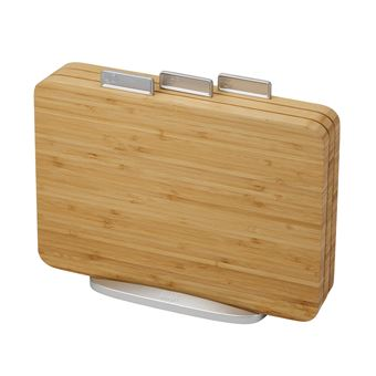 Joseph Joseph Index Bamboe Snijplank Set 4stuks