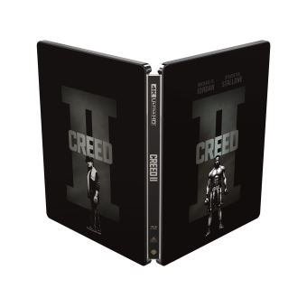 RockyCreed II Steelbook Blu-ray 4K Ultra HD