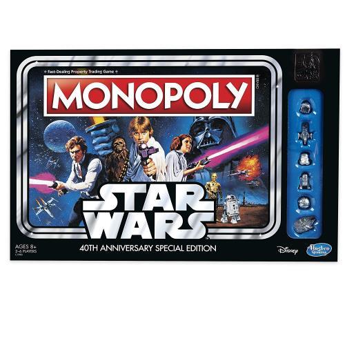 Jeu De Société Hasbro Monopoly Star Wars 40 Ans