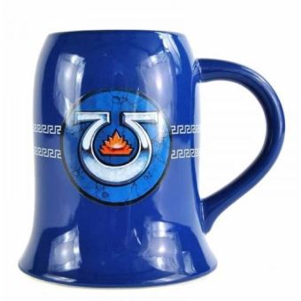 WARHAMMER-TANKARD MUG-500ML-ULTRAMARINES