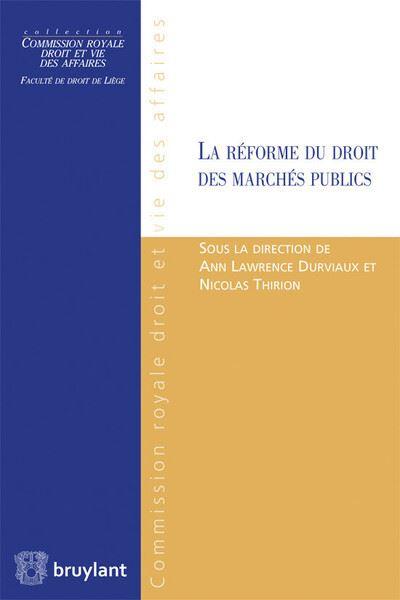 La réforme des marchés publics