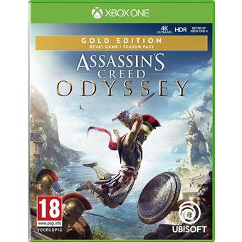 ASSASSIN'S CREED ODYSSEY GOLD EDITION FR/NL XONE