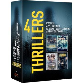 Coffret 4 Polars espagnols DVD
