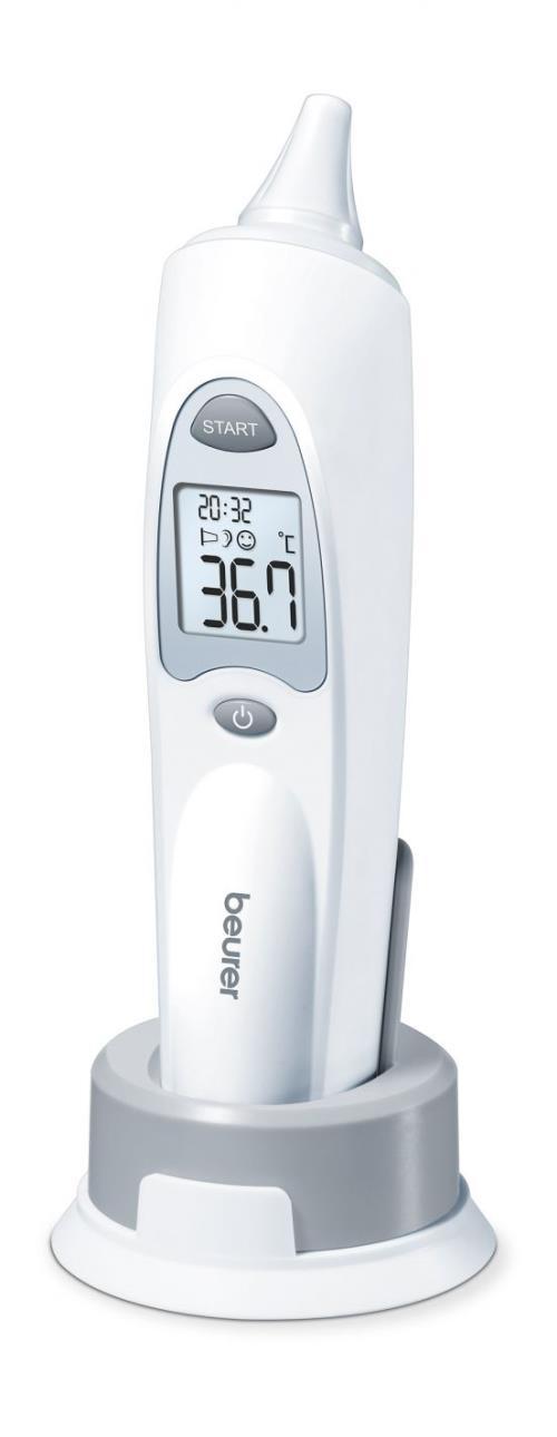 Thermomètre auriculaire Beurer FT 58 Blanc et gris