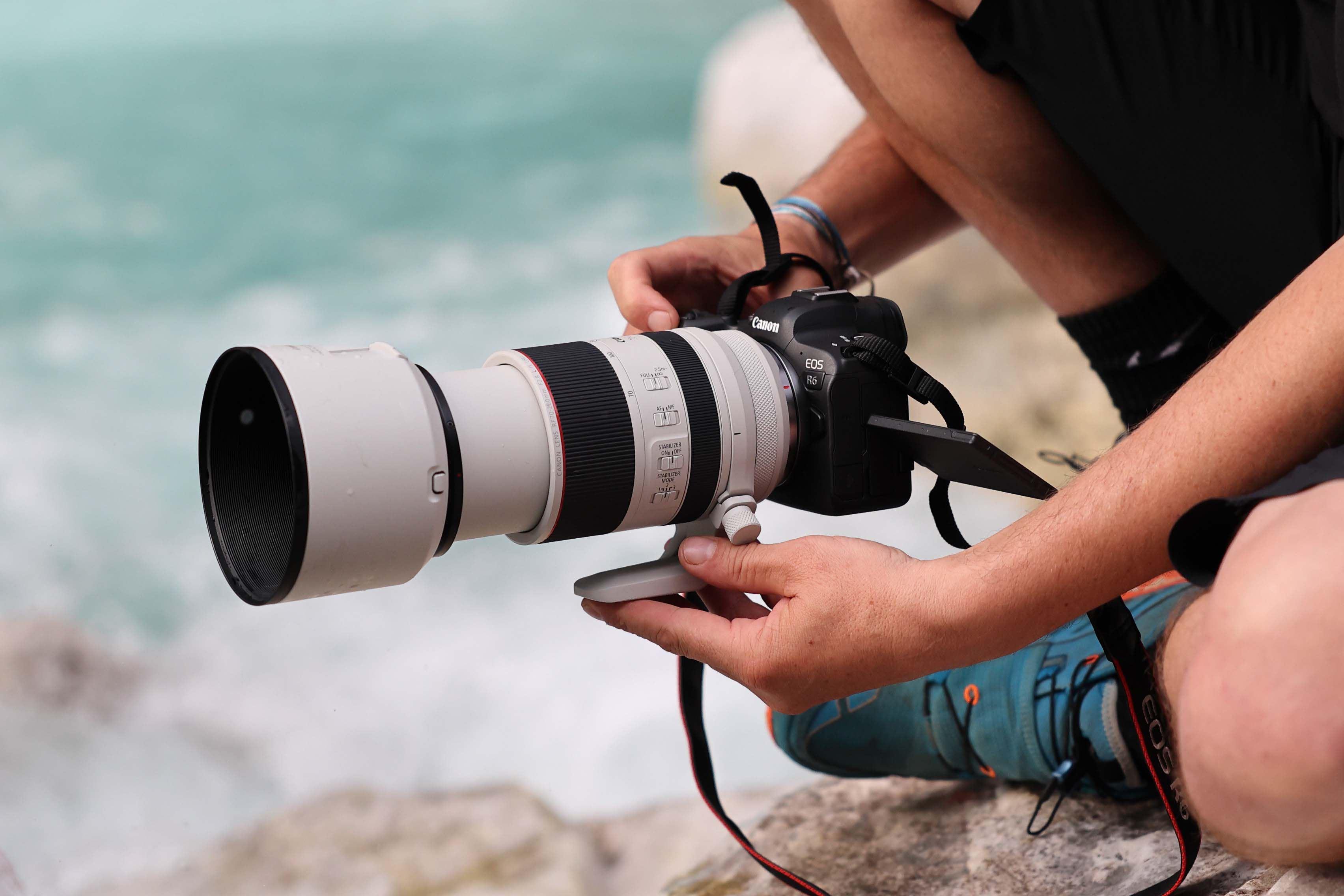 Canon apresenta dois novos membros da família EOS R