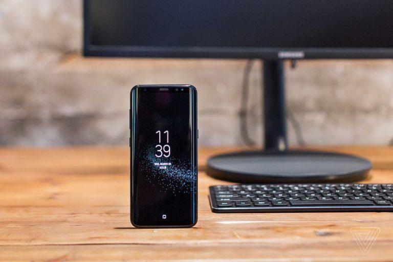 O Samsung Dex transforma o teu S8 num desktop