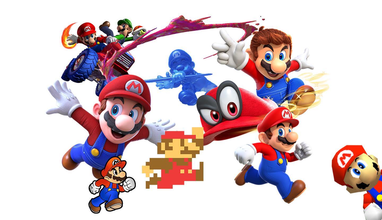 Os Super Marios mais icónicos de sempre