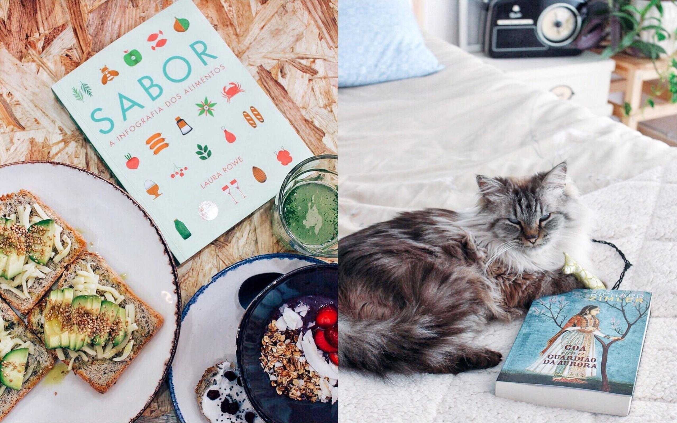 Dicas que vão transformar os livros nos reis do teu Instagram