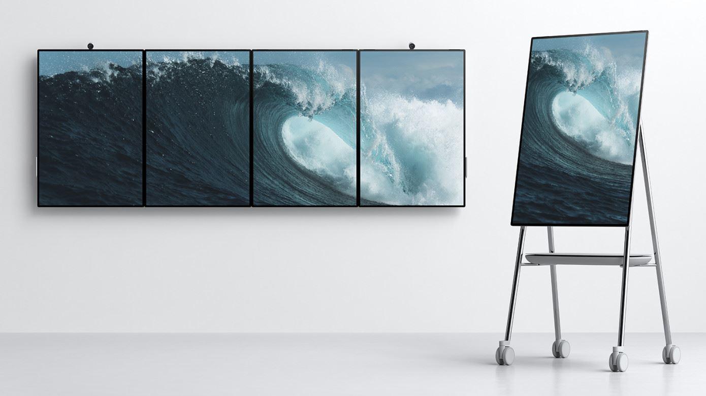A Microsoft promete revolucionar o futuro dos escritórios com o Surface Hub 2