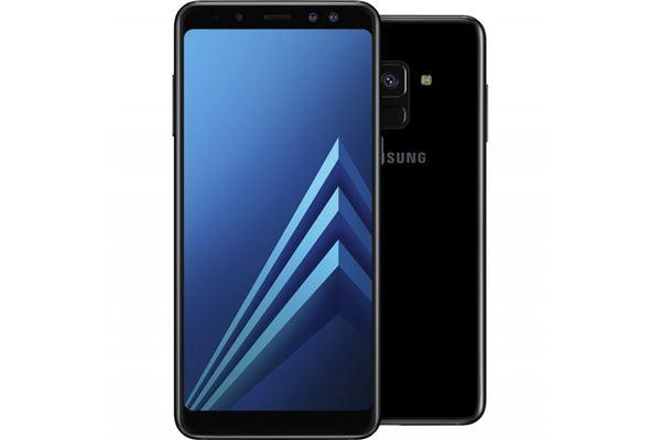 3c3cb84605 Um equipamento leve, construído maioritariamente em vidro, ergonómico e com  aspeto profissional. O Samsung Galaxy A8 apresenta um ecrã Super AMOLED, ...