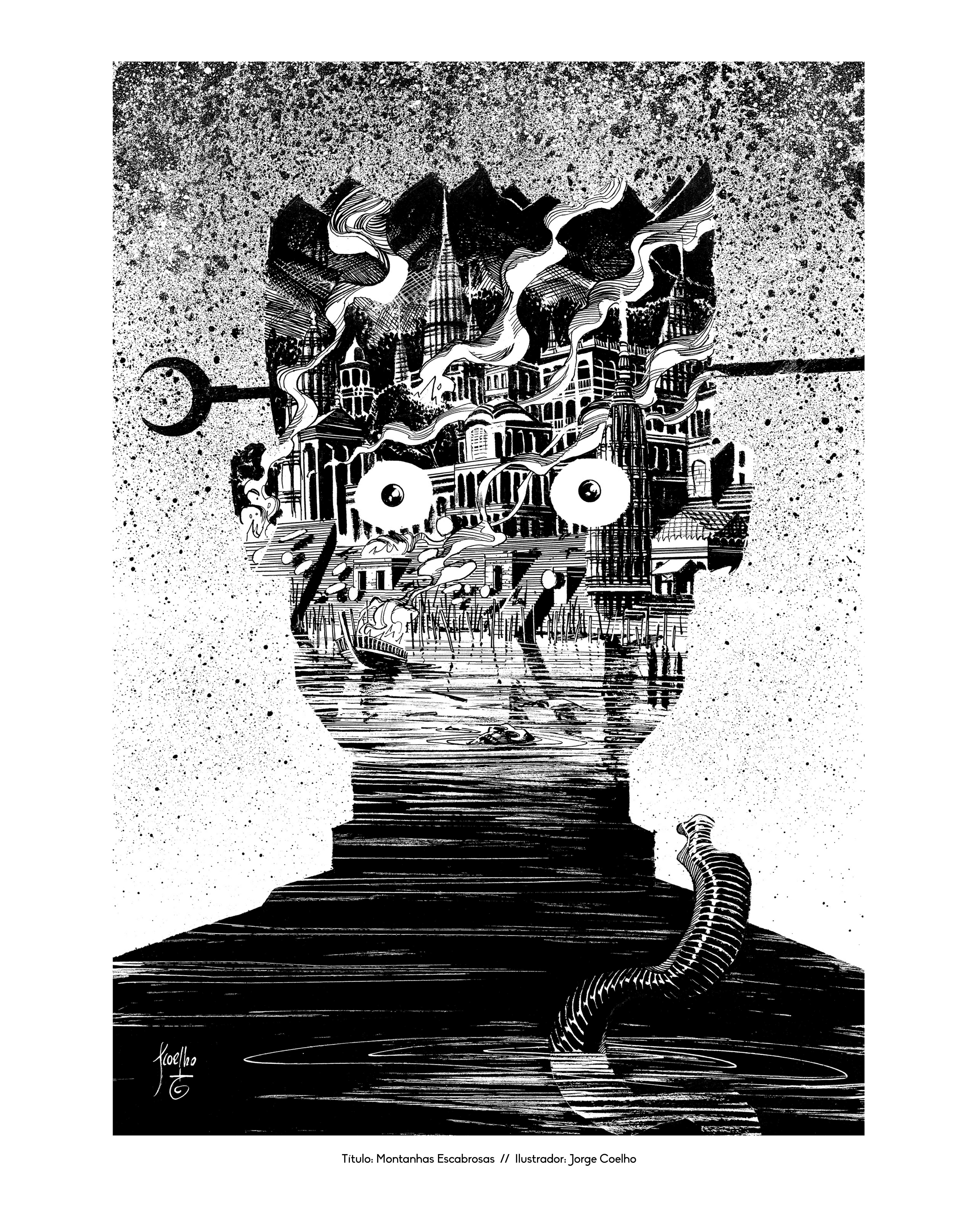 Os Melhores Contos de Edgar Allan Poe   Antologia ilustrada por 28 artistas nacionais