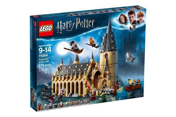 lego grande salão de hogwarts