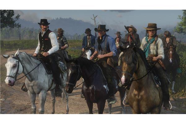 RDR2 horses