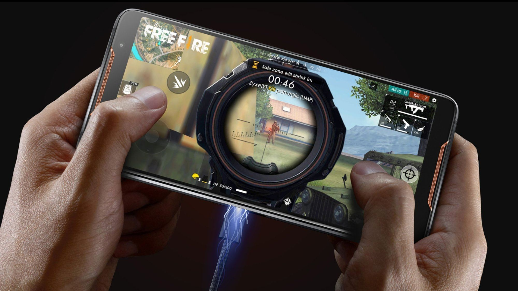 the-asus-rog-phone-wants-to-be-your-game-console-and-pc-too