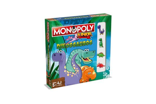 Monopoly Junior Dinossauros