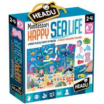 Puzzle Montessori Happy Sea Life