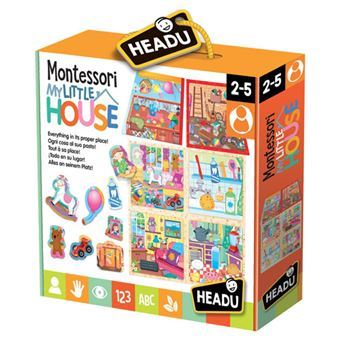 Puzzle Montessori My Little House