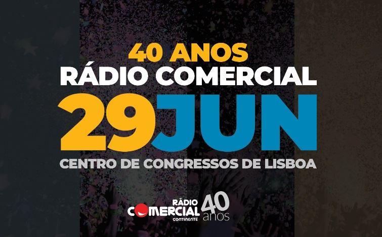 40 ANOS RÁDIO COMERCIAL_755x470