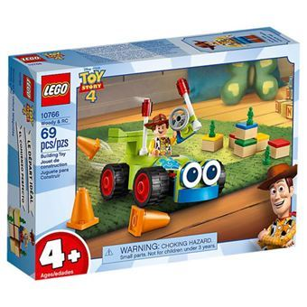 LEGO Toy Story 4 - Woody e RC