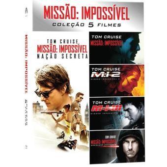 Missão Impossível - Coleção 5 filmes