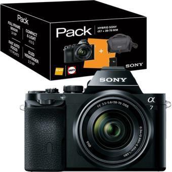 Pack Fnac Alpha a7 + FE 28-70mm