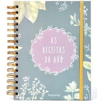 Caderno de Receitas Day by Day - As Receitas da Avó