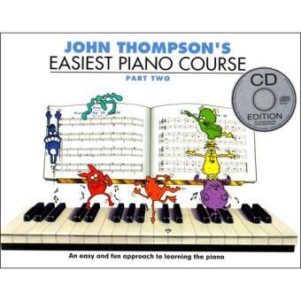 John-Thompson-s-Easiest-Piano-Course-Book-2-livro-músicaa
