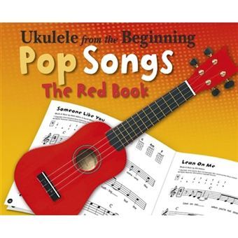 ukulele-from-the-beginning-pop-songs-the-red-book-livro-música