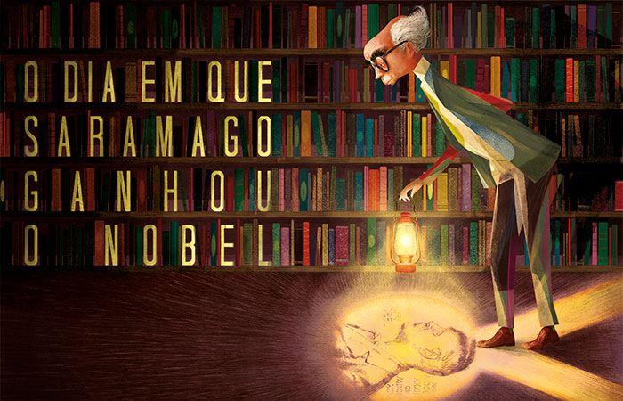 O dia em que Saramago ganhou o Nobel