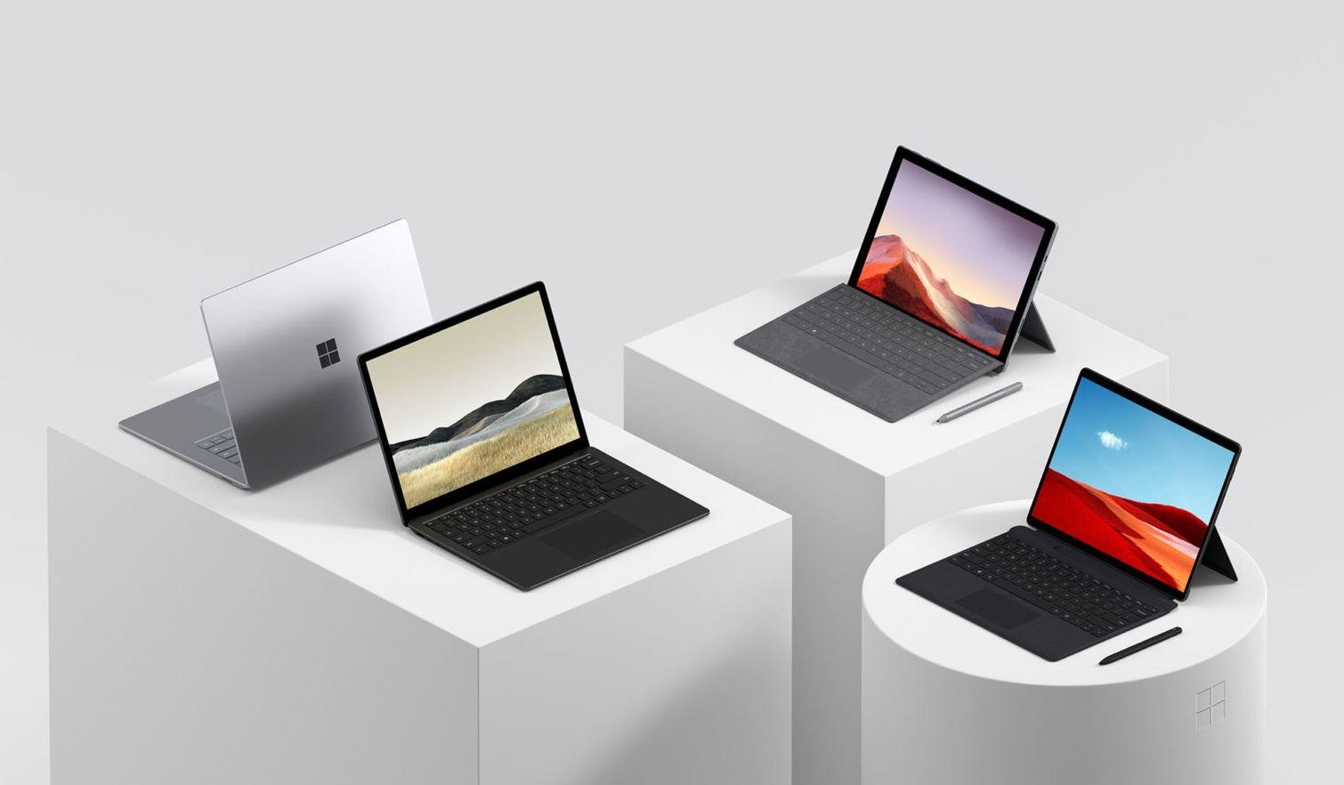 Novidades Surface: tudo sobre o Surface Pro 7, Pro X e Laptop 3