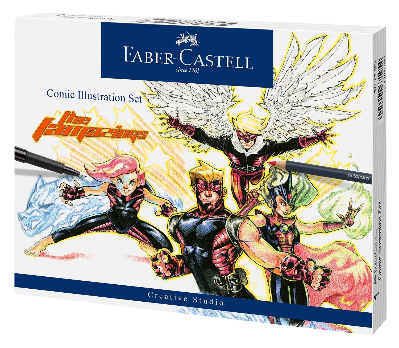 Set-para-Ilustração-Faber-Castell-Comic