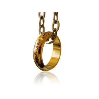 Figura O Senhor dos Anéis - Anel Único (Banhado a Ouro)