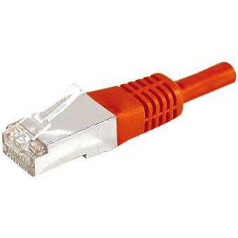 cabo de rede Dexlan 859531  0,3 m Cat6a F/UTP (FTP) Vermelho