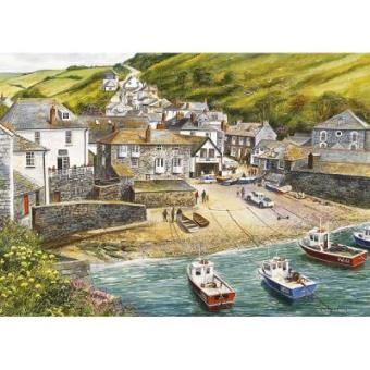 Port Isaac Jigsaw Puzzle 500 Pieces Gibsons Games