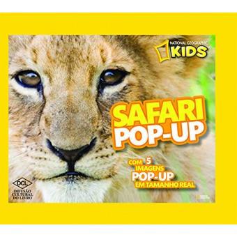 Safari Pop-Up - Série National Geographic Kids