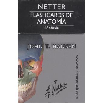 Netter Flashcards De Anatomia Studenconsult John T Hansen