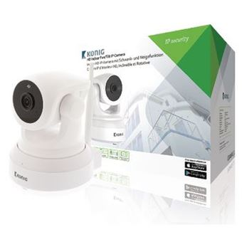 König SAS-IPCAM210W câmara de segurança Câmara de segurança IP Interior e exterior Domo Ceiling/Wall/Desk 1280 x 720 pixels