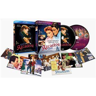 Spellbound (1945) / Recuerda + DVD Edicion Especial Limitada con Funda 3D + 8 Postales (2Blu-ray)