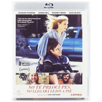 Don't Worry, He Won't Get Far on Foot / No te preocupes, no llegará lejos a pie (Blu-ray)