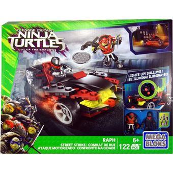 Carro Mega Bloks DPF80 Tartarugas Ninja