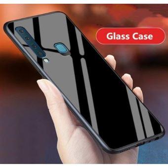 Capa Lmobile Glass Samsung Galaxy A9 2018 Preto