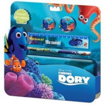 Conjunto Papelaria À Procura de Dory Disney 5 Peças