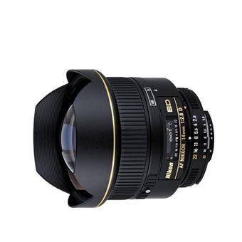 Nikon AF NIKKOR 14mm f/2.8D ED SLR Objetiva ultra ampla Preto