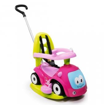 Velocípede e carro infantil Smoby PORTEUR MAESTRO BALADE ROSE/VERT Empurrar Carrot Verde e Rosa