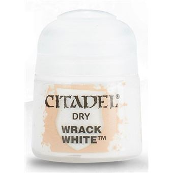 Games Workshop Dry Wrack White tinta acrílica Branco Frasco 12 ml