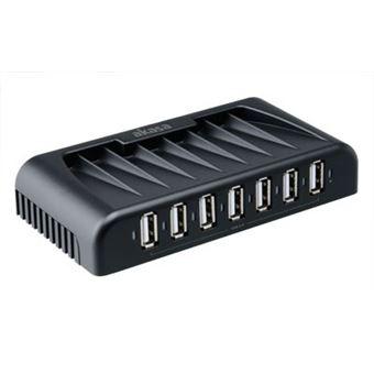 Akasa Connect 7+ 480 Mbit/s Preto