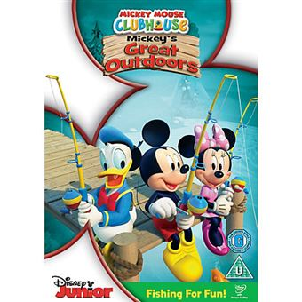 Disney Mickey Mouse Clubhouse MMCH - Mickey's Great Outdoors DVD 2D Inglês