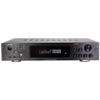 Amplificador Hifi 5.2 LTC com Bluetooth e Karaoke 4 x 75W + 3 x 20W