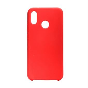 Capa Silicone Forcell para Huawei P20 Lite Vermelha